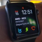 flight info on apple watch