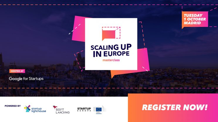 Scaling up in Europe Masterclass